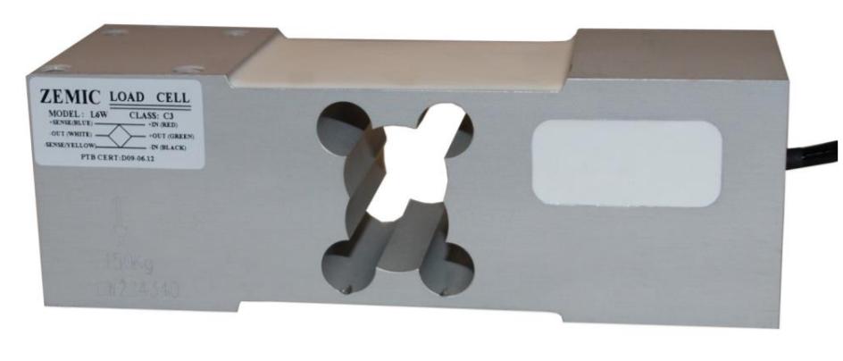 L6W - <li> snímač ze slitiny hliníku, eloxovaný a s krytím IP65</li> <li> vhodný pro konstrukci plošinových vah</li> <li> max. ložná plocha 600x600 mm nebo 600x800 mm</li> <li> rozsahy 0-50 kg .... 0-635 kg, třída C3</li>