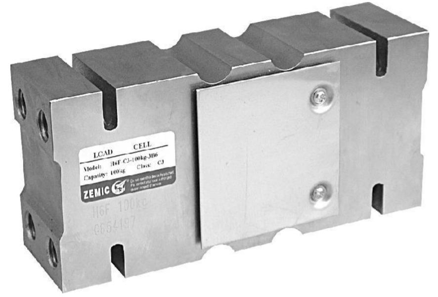 H6F - <li> ocelová niklovaná konstrukce s krytím IP66</li> <li> vhodný pro konstrukci plošinových a pásových vah</li> <li> rozsahy 0-100 kg .... 0-2000 kg, třída C3</li>