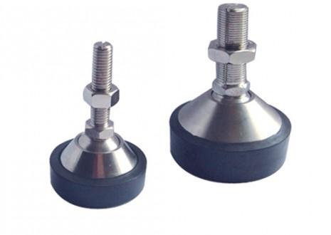 LFC - je noha pro snímače F60X, SK30X/A a SK10A, používá se v jednoduché aplikaci u plošinových vah, v rozsahu 5kg…5t. Má nastavitelnou výšku, je vyrobena z pozinkované oceli.