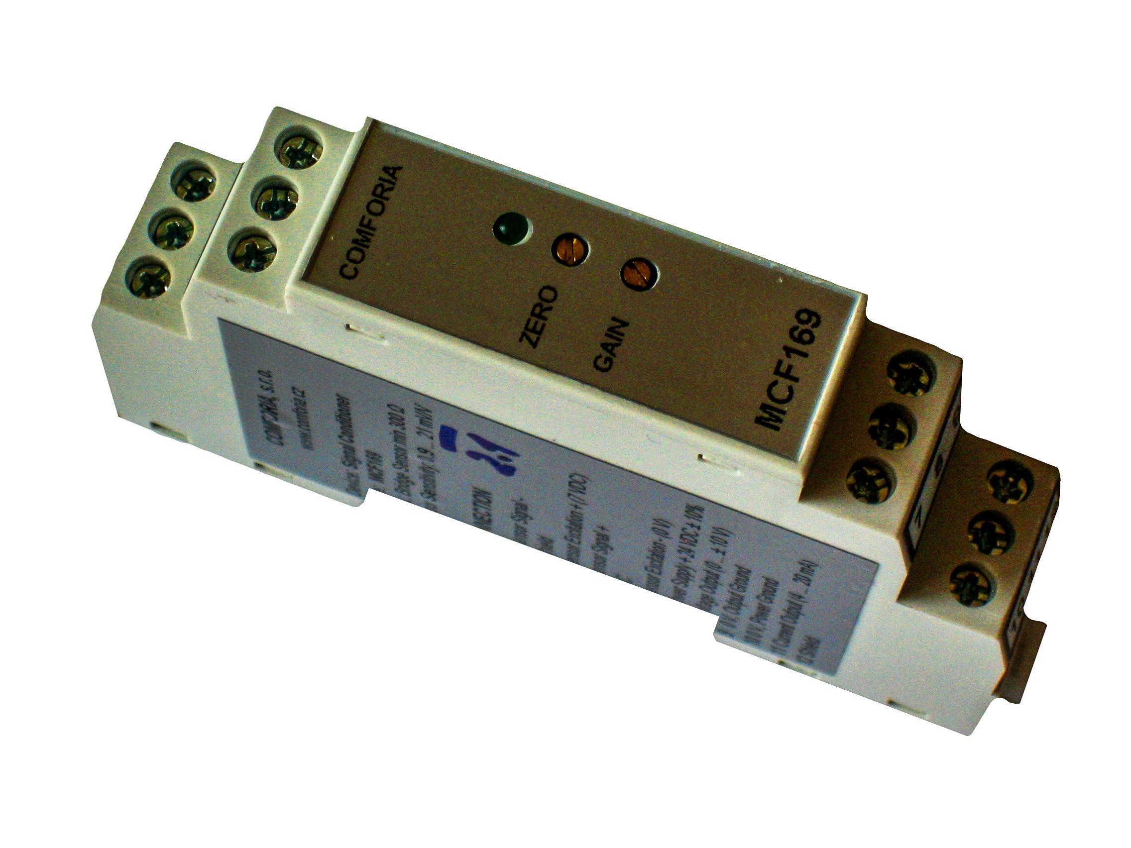 MCF169, Převodníky